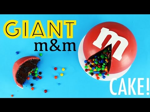 Giant M S Cake How To Make A Sized My Cupcake Addiction