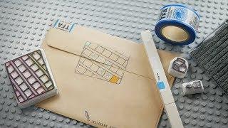 봉투 꾸미는 ASMR - 지우개 도장과 마테의 향연