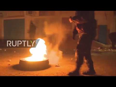 Tunisia: Violence erupts as police attempt to disperse protest against price hikes