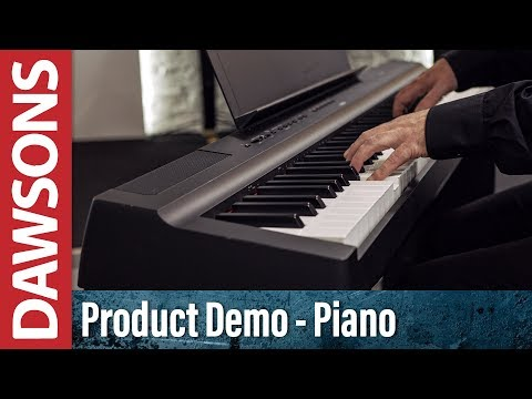 Yamaha P-125 Portable Digital Piano Overview