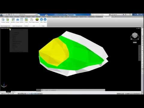 AutoCAD Solid Geology:  How to Create a Solid Geology Model from AutoCAD Civil 3D Surfaces