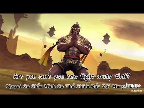 Dịch giọng raz Muay thai