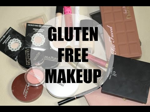 THE BEST GLUTEN-FREE MAKEUP! & vegan, organic and paraben-free too