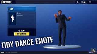 NEW TIDY Dance emote on Fortnite! Snoop Dogg dance in Fortnite 500 v-bucks