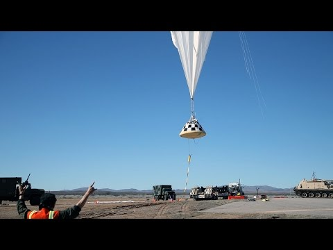 Boeing tests Starliner's Parachute System