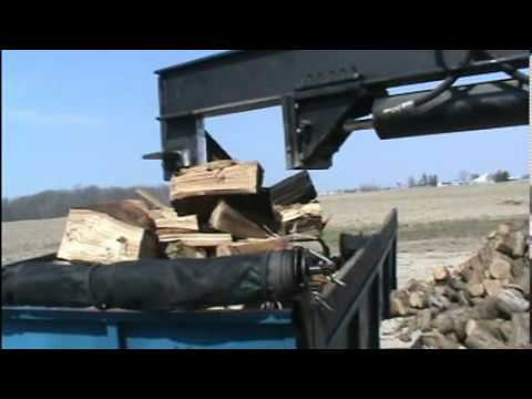 Skid Steer Wood Splitter Youtube