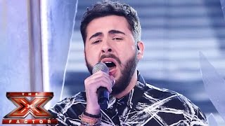 andrea faustini sings miley cyrus wrecking ball   live semi final   the x factor uk 2014