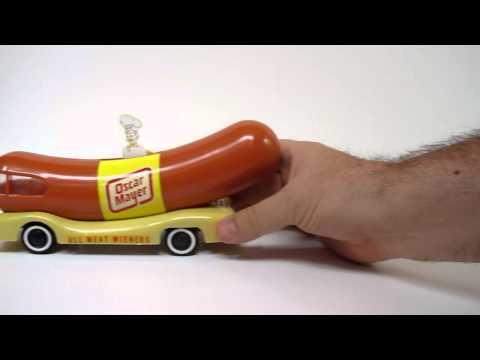 Oscar Mayer Wienermobile Toy Working W/