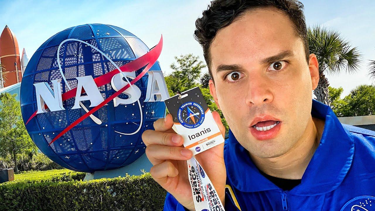 ENTRENAMIENTO DE ASTRONAUTA en la NASA!!