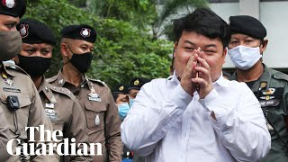 Penguin: the Thai protest leader risking jail