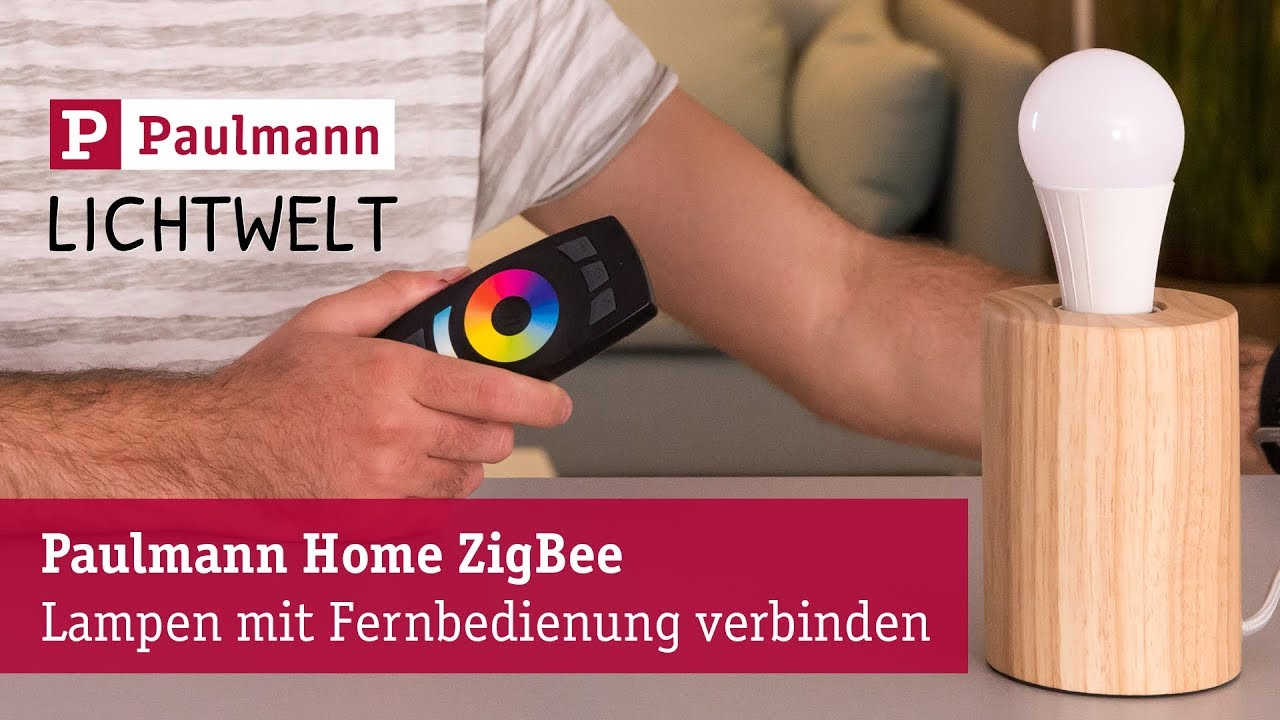 paulmann home zigbee fernbedienung anlernen youtube. Black Bedroom Furniture Sets. Home Design Ideas