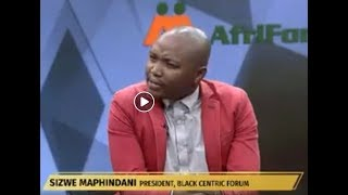 South African Land Was Robbed Not Stolen Says Sizwe Maphindani - Big Difference