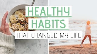 ... // here's 5 healthy habits that i've incorporated into my routine ch...