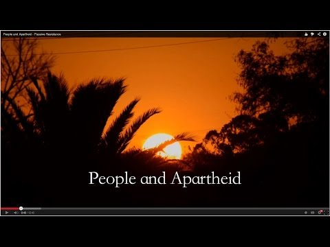 People and Apartheid I - Passive Resistance