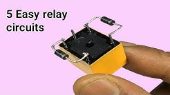 Top 5 Easy relay circuits