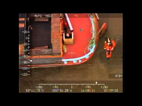 Leconfield Search and Rescue crew save 15 people from stranded barge