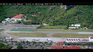 Preview of stream St. Barth's, the third most dangerous airport in the world (cam 2)