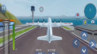 Airplane Pilot Car Transporter / Airplane Simulator screenshot 2