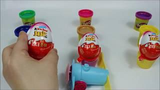 PlayDoy and Kinder Joy Chocolate Toy with Cupcake