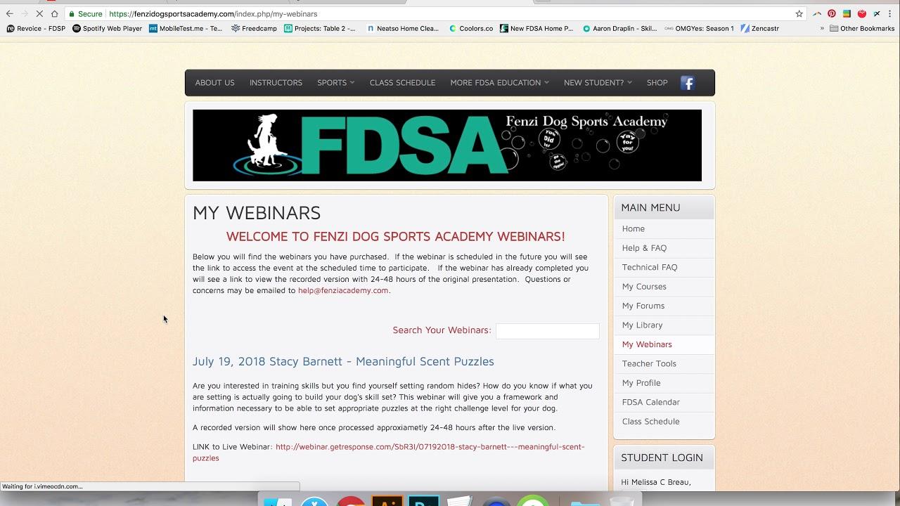Fenzi Dog Sports Academy - How can we help?