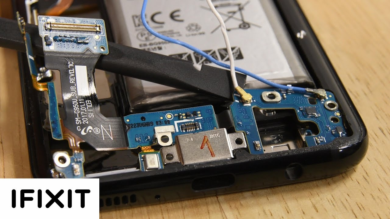 How To: Replace the Samsung Galaxy S8 Charging Port (IO