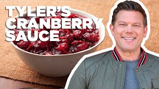 Tyler Florence Makes Cranberry-Orange Sauce | Food Network