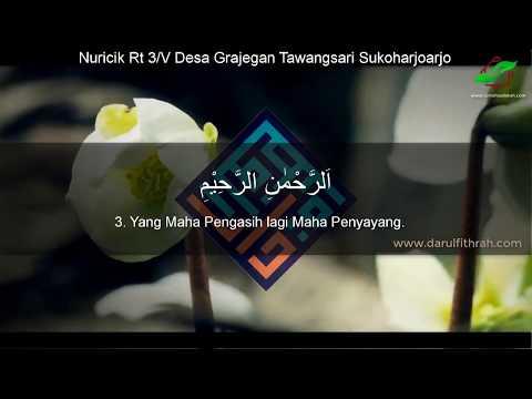Suara Merdu Bacaan Al Quran Surah Al Fatihah Zulkarnain Hamzah