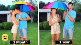 Relationships: One Month Vs One Year