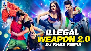 Illegal Weapon 2.0 (Remix) | DJ Rhea | Varun Dhawan | Shraddha Kapoor | Street Dancer 3D