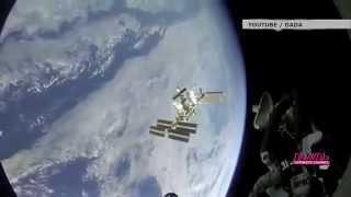 Стыковка «Союза» с МКС. Ускоренное видео под музыку Иоганна Штрауса
