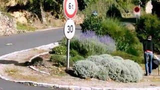 Film les 100 km de  Millau 2015 en trottinette de sport