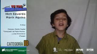 Ilich Marín en Tu Voz: Un Canto de Solidaridad y Esperanza (Categoría B)