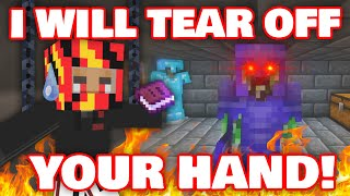 Awesamdude TORTURED Ponk And RIPPED OFF His HAND To GET BACK His PRISON KEYS! DREAM SMP