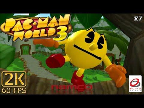 Pac-Man World 3   PC/Windows   Longplay   Part 1   2K 1440p 60FPS