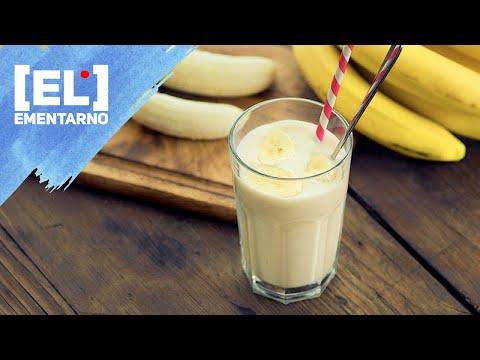 Коктейль Молочный с Бананом Как приготовить/Рецепт