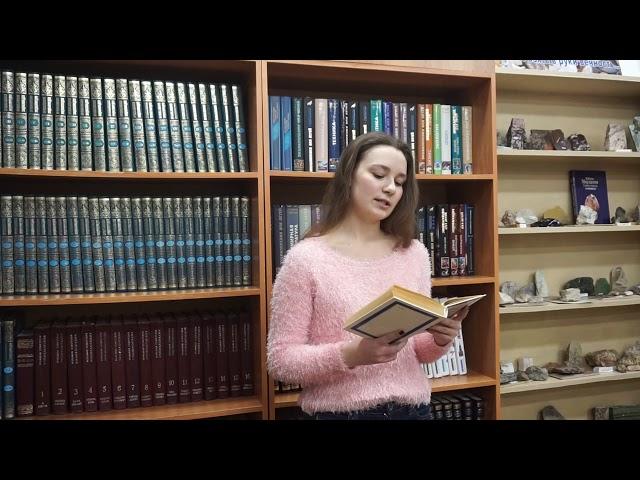 Изображение предпросмотра прочтения – ПолинаКашина читает произведение «Весенняя гроза (Люблю грозу вначале мая…)» Ф.И.Тютчева
