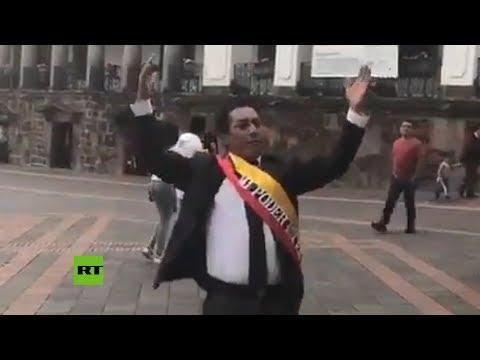 Ecuador también tiene su presidente autoproclamado