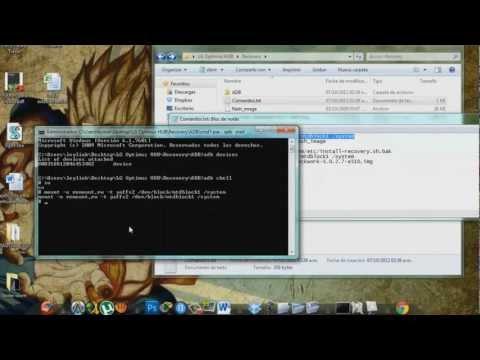 Instalar Clockworkmod Recovery LG Optimus Hub(e510)