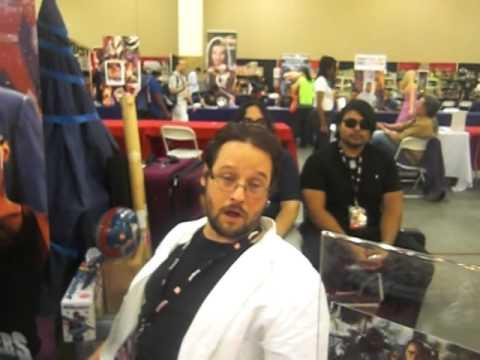 Powermorphicon 2014  Day 1  Christopher Khayman Lee   Power Rangers In Space