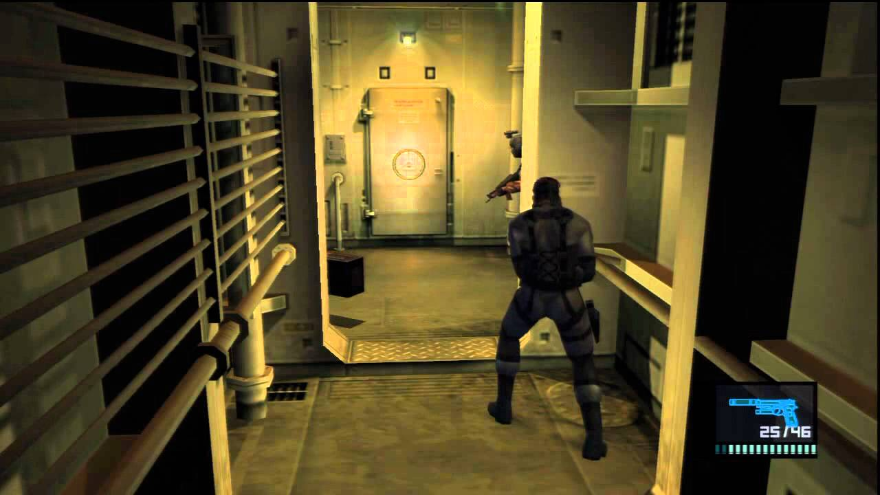 02 Metal Gear Solid 2 Hd Collection Big Boss Rank Tanker Soldier Assault