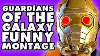 Guardians of the Galaxy Telltale Funny Montage!