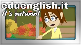 Autumn colours and more | English learning for kids