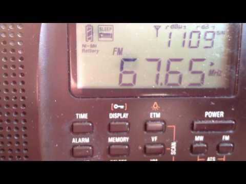 Радио России Санкт-Петербург. Спорадик. Radio Rossii Saint Petersburg on 67.67 MHz. Es 690 km.