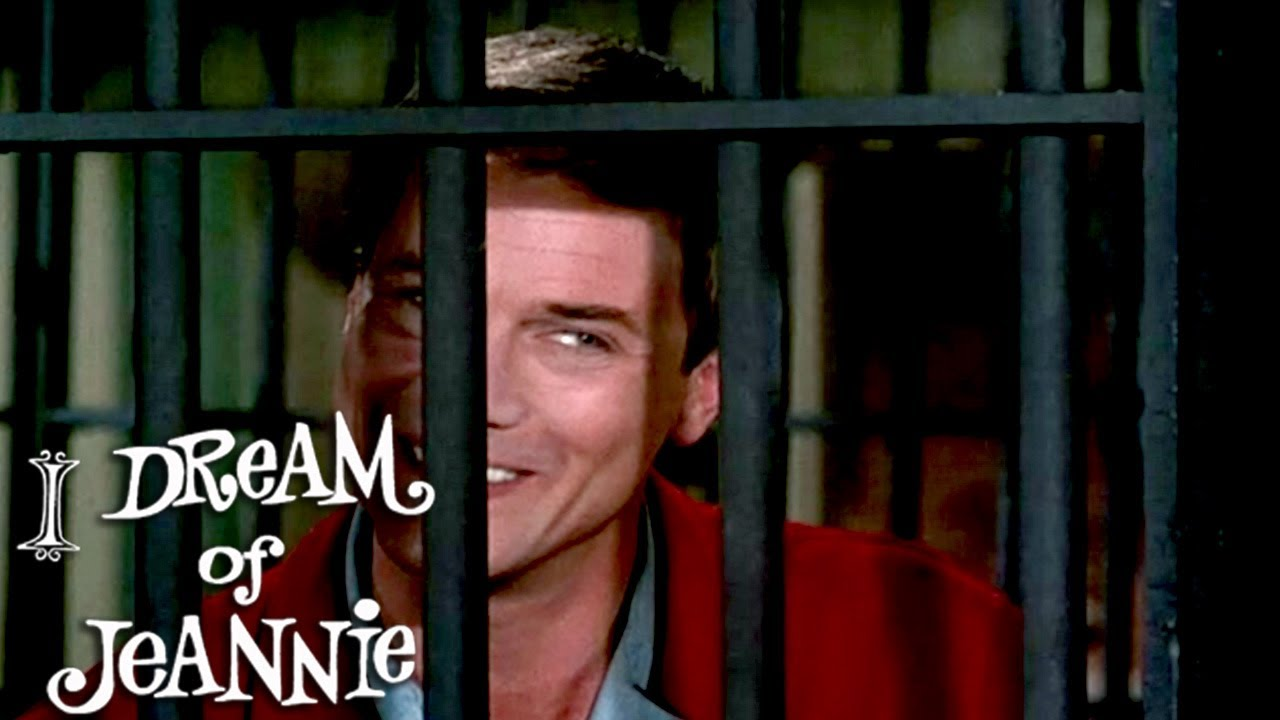 Jeannie Traps Tony In The Living Room | I Dream of Jeannie