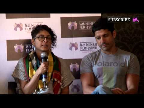 16th Mumbai Film Festival Curtain Raiser | Kiran Rao, Farhan