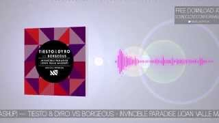 Tiësto & Dyro vs Borgeous - Invincible Paradise (Joan Valle Mashup)  [FREE DOWNLOAD]