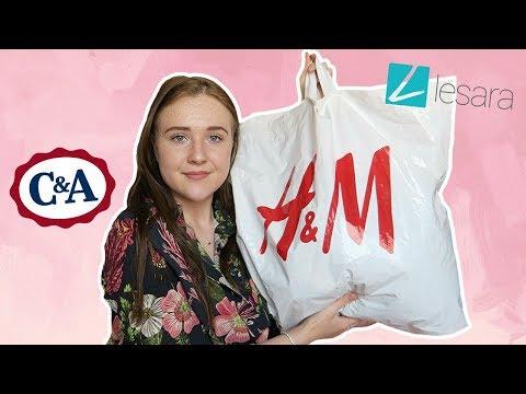 Try On Shoplog - Lesara, H&M En C&A! |...