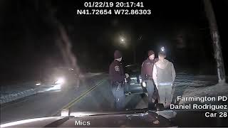 Police release dashcam video of Norwich officer arrest