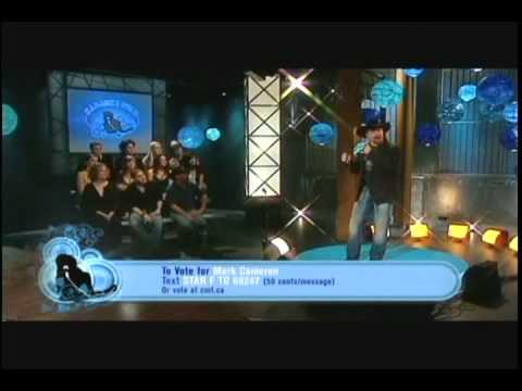 Mark Cameron Singing Crazy  -  CMT Karaoke Star 2007