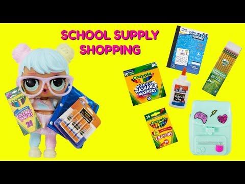 Bon Bon Goes School Supply Shopping Jo Jo Siwa Bows Surprise